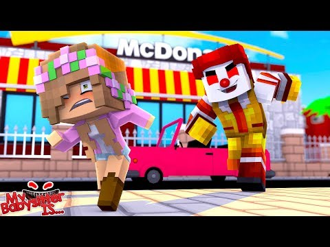 RONALD MCDONALD EXE IS AFTER BABY LITTLE KELLY | Minecraft Little Kelly