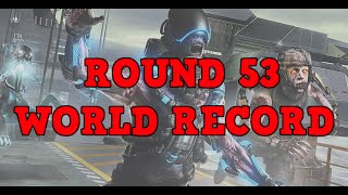 CoD AW Exo Zombies 'Carrier' ex World Record round 53