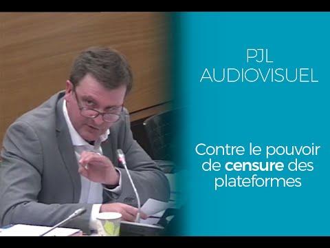 PJL Audiovisuel   Contre le pouvoir de censure des plateformes