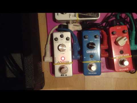Andoer delay pedal TC-31 AD-6 (China) aliexpress von YouTube · Dauer:  3 Minuten 36 Sekunden