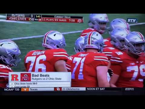 SVP Bad Beats: Ohio State vs. Rutgers 10/1/16