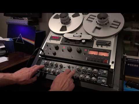 Revox PR99 MK3 and Orban 642B/U Black Face Edition