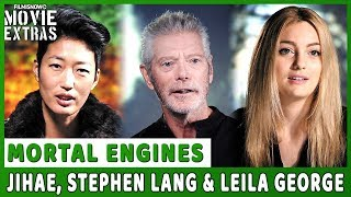 MORTAL ENGINES | On-set visit with Jihae, Stephen Lang & Leila George