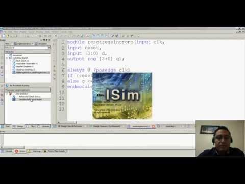 FPGAs & Verilog 2015 - Registros con señal de Enable & Reset - Hackeando Tec