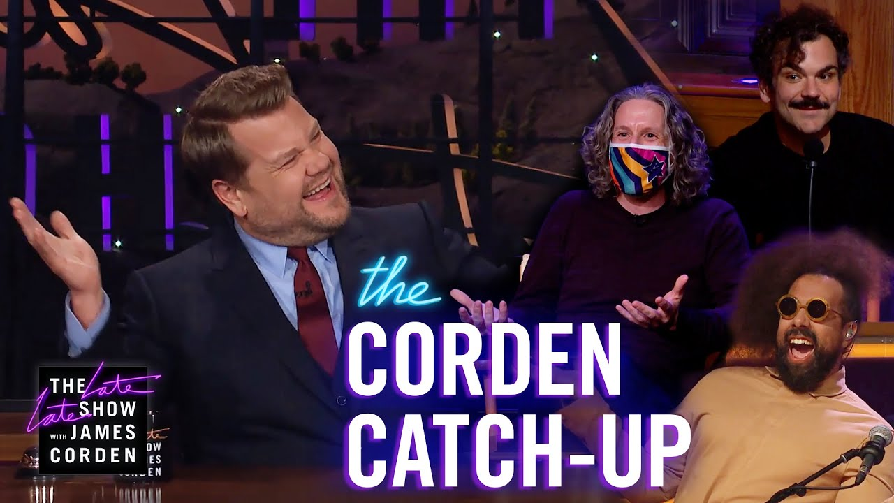 The Big Boss Is BACK - Corden Catch-Up