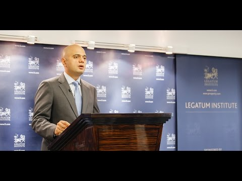 In Defence of the 'C' Word with Sajid Javid, Secretary of State for Business, Innovation and Skills