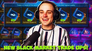 MY ONLY IGNITION SERIES TRADE UP VIDEO! | Exotic to Black Market Trade Ups in Rocket League!