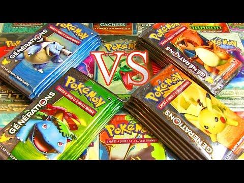 Ouverture de 20 boosters Pokémon XY Générations FR ! Le Combat de Boosters ULTIME  !