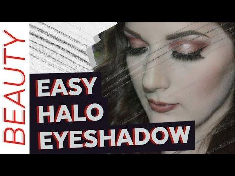 Easy Halo Eyeshadow - Makeup Tutorial - 동영상