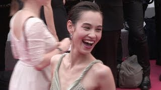 Kiko Mizuhara and more on the red carpet for the Premiere of Yomedine in Cannes