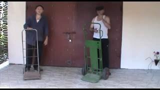видео Самодельные тележки