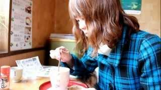 """岡田屋の食堂で「白いおしるこ」と昼食! @北海道洞爺湖町 Lunch at """"Okadaya"""" Lake Toya, Hokkaido"""