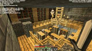 Minecraft With T&G Team #6 - Засели в библиотеке