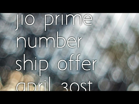 jio users కి శుభవార్త jio prime number ship offer పెంచబడింది