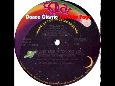 """Dynasty - I've Just Begun To Love You (Extended 12"""" Mix)"""