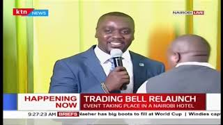 Nairobi Security Exchange, KTN News re-launch Trading Bell Season Three