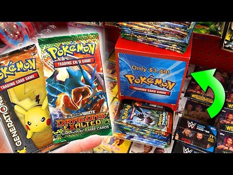 I FOUND OLD POKEMON CARDS PACKS AT TARGET! - Opening RARE Pokemon Packs From The Store!