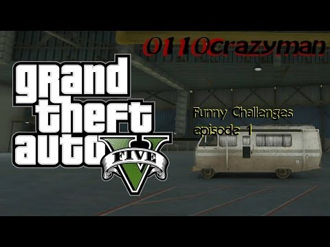 GTA 5 Funny Challenges ep. 1 Driving a RV up Mt. Chilliad
