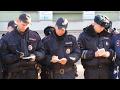 Несколько десятков сотрудников полиции собрались на гарнизонный инструктаж нарядов
