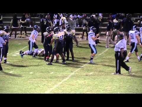The Lovett School varsity football vs Hapeville Charter, 2014