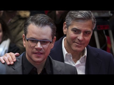 George Clooney Told Matt Damon He Was Having Twins Months Ago