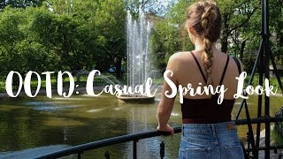 OOTD: Casual Spring Look! | Nicole Grzeda