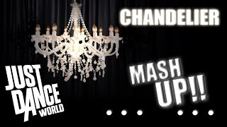Just Dance 2015 | Chandelier Sia | FAN MADE | MashUp | Made By Me
