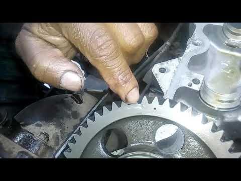 Sincronizacin rbol de levas Motor Hinos  24 valvulas