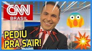 💣 REINALDO GOTTINO deixa RECORD e vai pra CNN BRASIL! 🔥📺