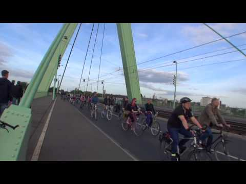 Critical Mass Cologne - 30.05.2014