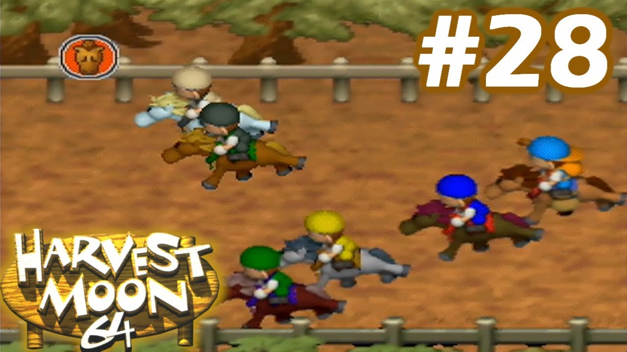Harvest moon 64 horse race betting software parlay rules betting nfl