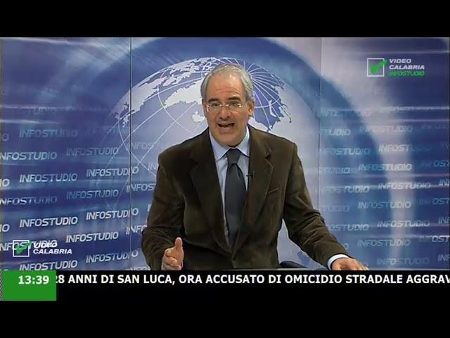InfoStudio il telegiornale della Calabria notizie e approfondimenti - 20 Gennaio 2020 ore 13.30