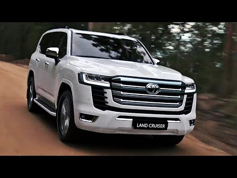 2022 Toyota Land Cruiser - interior Exterior and Driving (Best Large SUV)