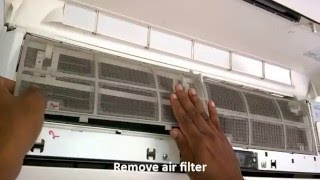 Split Ac Cooling Complaint Repairing and servicing very easy  Part - 1