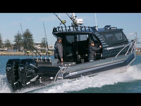 Profile Boats 940HW 450hp Plate Aluminium Fishing Boat