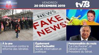 Club de la presse. Emission du 20 décembre 2019