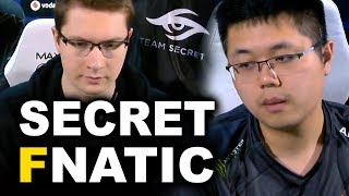 SECRET vs FNATIC - PUPPEY vs EE EPIC GAME - ESL KATOWICE MAJOR DOTA 2