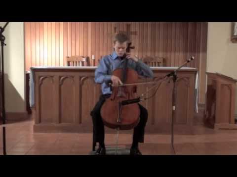 Crumb - Sonata for Solo Cello: III. Toccata (Rylan Gajek Leonard)