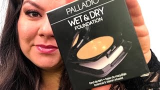 PALLADIO WET & DRY FOUNDATION REVIEW & TUTORIAL