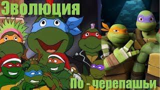 Эволюция - мультфильм Черепашки ниндзя  ( 1987- 2018 )