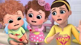Be Safe! Wash Your Hands!   Healthy Habits Song for kids   Blue fish Kids Songs