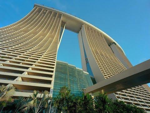 SKYSCRAPER EXTERIOR AND INTERIOR DESIGN # Marina Bay Sands LUXURY HOTEL SINGAPORE