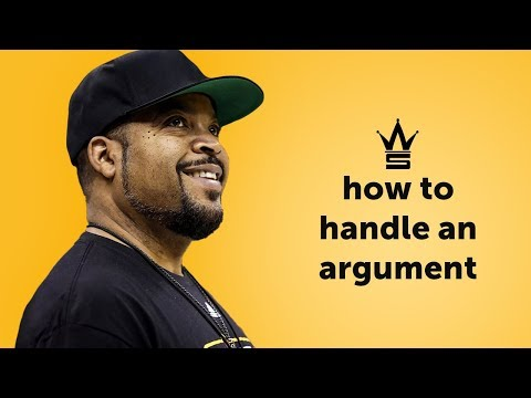 Ice Cube on How To Handle an Argument | Relationship Advice
