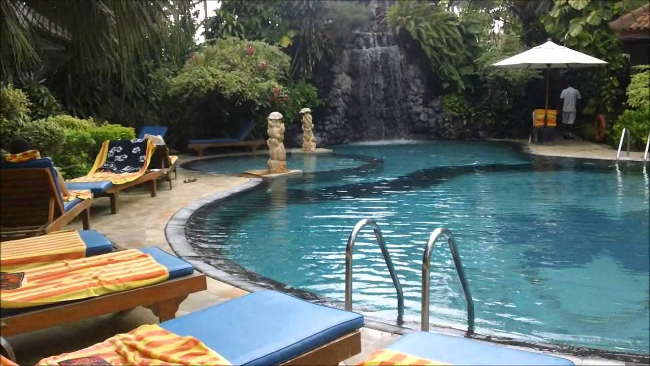 Poolside Parigata Resort Amp Spa Sanur Bali Hotel Youtube