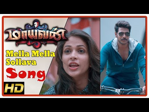Maayavan Tamil Movie Scenes | Mella Mella...