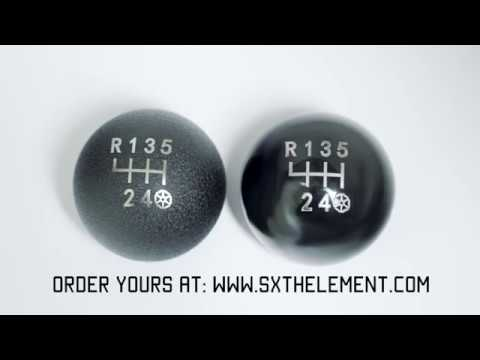 Spherical Weighted Shift Knob with 34mm Reverse Lockout Cavity