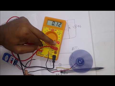 How To Measure Current (Amperes) & Why Ammeter Connected in series ( In Hindi)