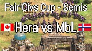 Hera vs MbL | Fair Civs Cup Semifinal