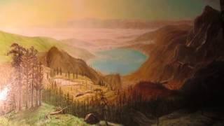 пишем пейзаж (видеоурок 8) - живопись маслом - paint landscape  - multi-layered oil painting