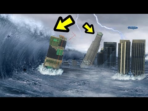 GTA 5 - The BIGGEST Tsunami EVER!!
